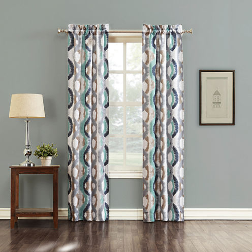 Sun Zero™ Andrus Grommet-Top Curtain Panel