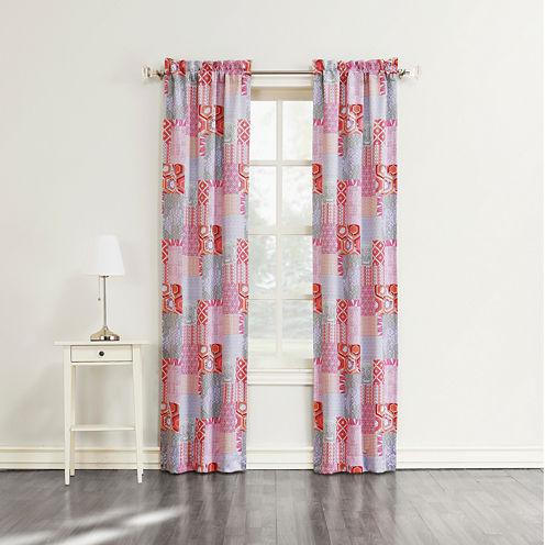 Sun Zero™ Gonzales Grommet-Top Curtain Panel