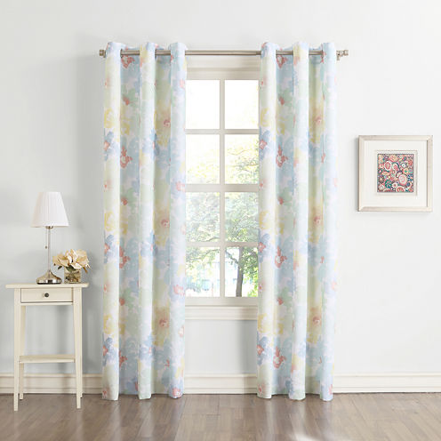 Cordell Grommet-Top Curtain Panel