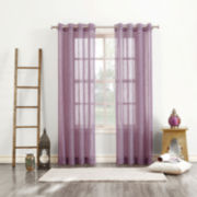 Delino Grommet-Top Curtain Panel