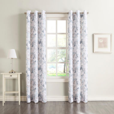 jcpenney.com | Rosalyn Grommet-Top Curtain Panel
