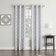 Uriel Grommet-Top Curtain Panel