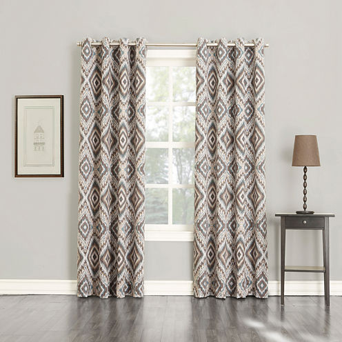 Sun Zero™ Santee Grommet-Top Curtain Panel