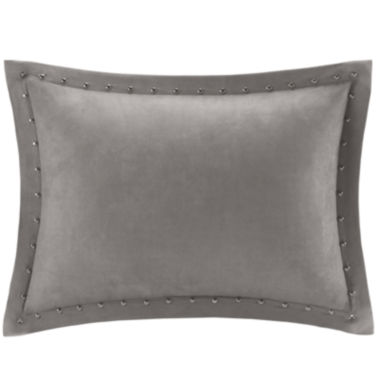 jcpenney.com | Madison Park Reiss Stud Trim Microsuede Oblong Feather Pillow