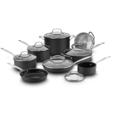 jcpenney.com | Cuisinart® Chef's Classic™ 14-pc. Hard Anodized Cookware Set