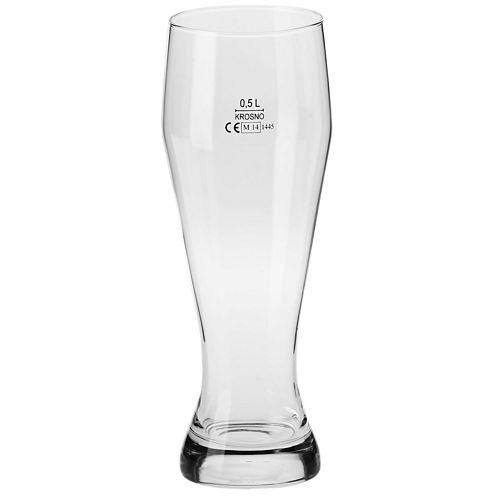 Krosno Bruno Set of 6 Wheat Beer Glasses
