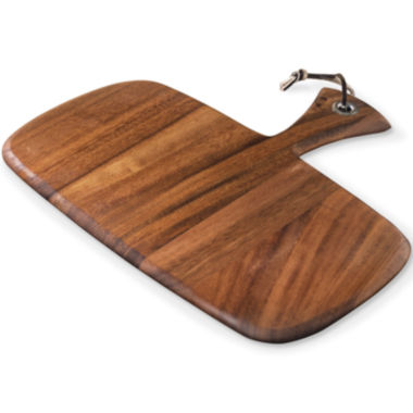 jcpenney.com | Ironwood Gourmet Rectangular Small Rectangular Paddle Serving and Cutting Board