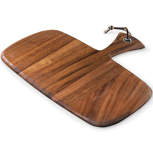 Ironwood Gourmet Rectangular Small Rectangular Paddle Serving and Cutting Board