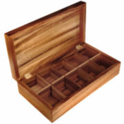 Ironwood Rectangular Tea Box