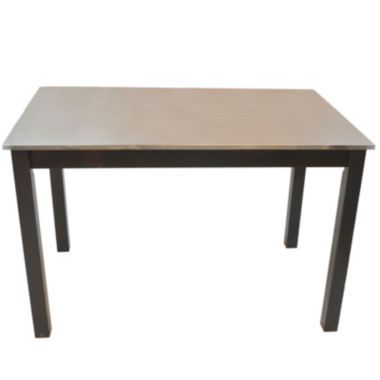 jcpenney.com | Cooper Stainless Steel Top Table