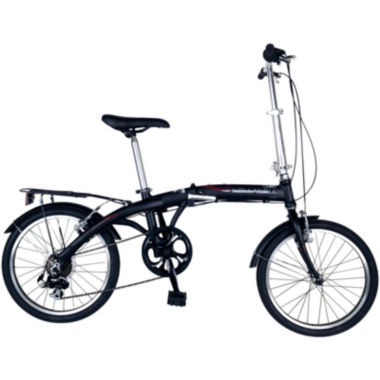 jcpenney.com | Hollandia Amsterdam 7 Unisex Folding Bicycle