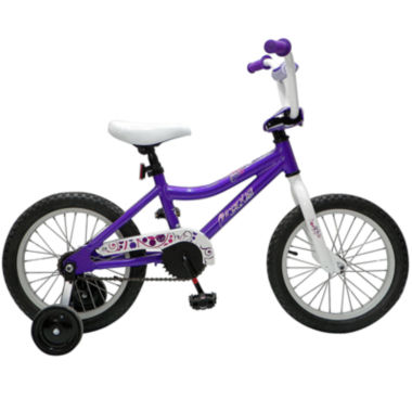 "jcpenney.com | Piranha Teeny Lady Single-Speed 11.25"" Frame Purple Girls Bike"