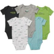 Carter's® 5-pk. Turtle Bodysuits - Boys newborn-24m