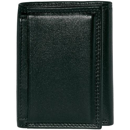 Buxton® Emblem Tri-fold Leather Wallet