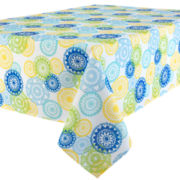 Spring Medallion Indoor/Outdoor Tablecloth