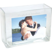Cathy's Concept Personalized Glass Photo Vase