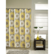 M.Style Sunflower Bloom Shower Curtain