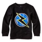 Okie Dokie® Long-Sleeve Fleece Sweatshirt - Boys 2y-6y