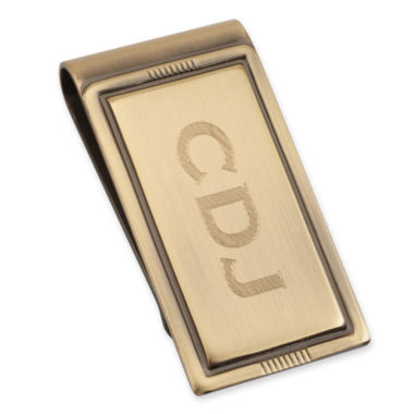 jcpenney.com | Personalized Brushed Die-Struck Money Clip