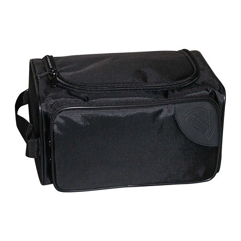 Buxton® Business Class Collection Zip Around Toiletry Bag