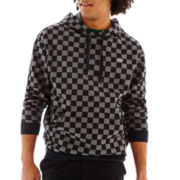 Vans® Checked Fleece Pullover Hoodie