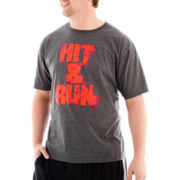 adidas® Hit-and-Run Tee-Big & Tall