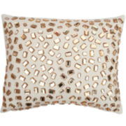 Andrea Faux-Gemstone Decorative Pillow