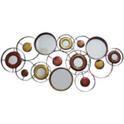 Abstract Mirror Wall Decor