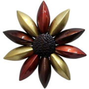 Metal Sunflower Wall Decor