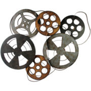Movie Reels Wall Decor