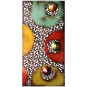 Modern Circle Metal Wall Decor