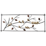 Branch Metal Wall Decor