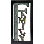 """Family"" Metal Wall Decor"