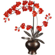 Floral Metal Wall Decor