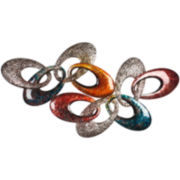 Colorful Links Metal Wall Decor