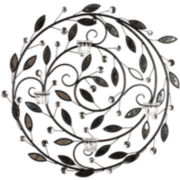 Circular Vine Metal Wall Decor