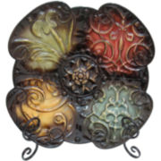 Rustic Decorative Plate