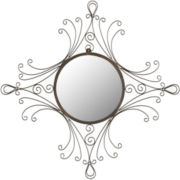 Maltese Round Wall Mirror