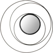 Inner Circle Round Wall Mirror