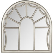 Palladian Window Pane Wall Mirror