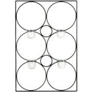 Circle Votive Candle Holder Wall Sconce