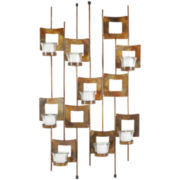 Squares Votive Candle Holder Wall Sconce