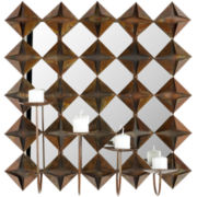 Square Pillar Wall Sconce