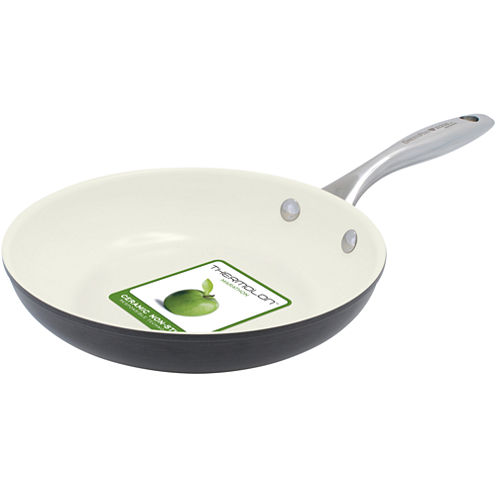 "GreenPan™ Lima I Love Cooking 8"" Ceramic Fry Pan for Eggs and Pancakes"