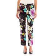 Worthington® Floral Print Soft Pants - Tall