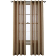 MarthaWindow™ Figment Grommet-Top Curtain Panel