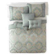 Home Expressions™ Candace 7-pc. Jacquard Comforter Set