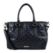 XOXO® Debossed Satchel Bag