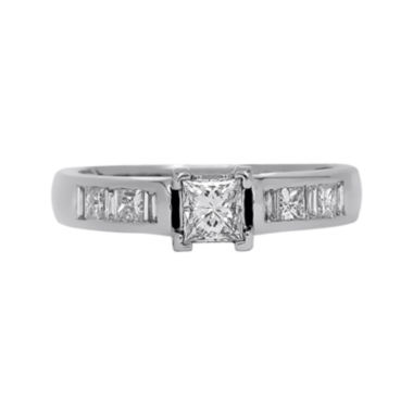 jcpenney.com | LIMITED QUANTITIES 3/4 CT. T.W. Diamond 14K White Gold Engagement Ring