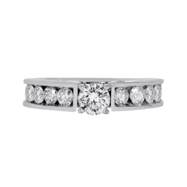 jcpenney.com | LIMITED QUANTITIES 1 CT. T.W. Diamond 14K White Gold Engagement Ring